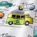 Trendy Car Print Short-sleeve Tee for Boy