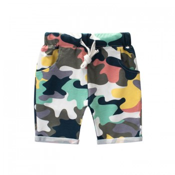 Casual Camouflage Print Shorts for Toddler Boy and Boy