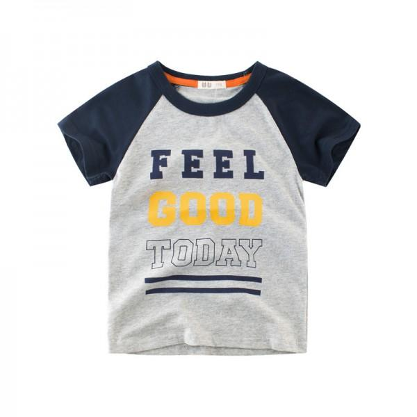 Feel Good Today Short-sleeve Tee for Toddler Boy and Boy