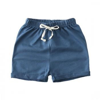 Cool Solid Drawstring Shorts for Kid