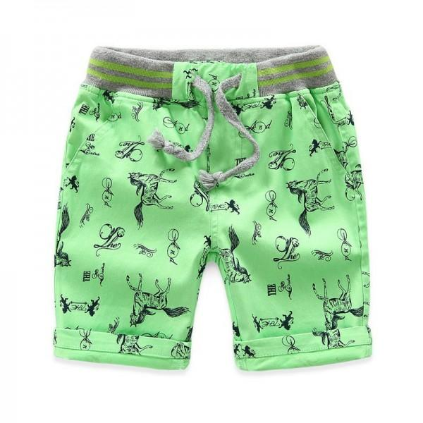 Stylish Horse Print Shorts for Toddler Boy and Boy