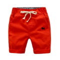 Stylish Dog Embroidery Drawstring Design Shorts for Baby Boy and Boy