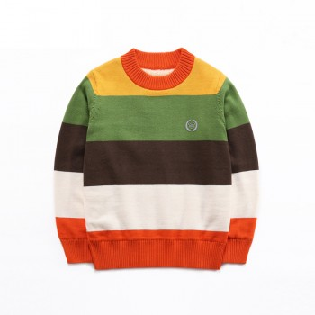 Trendy Color Block Sweater for Toddler Boy and Boy