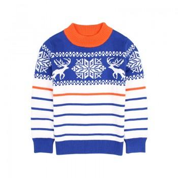 Trendy Elk Design Sweater for Toddler Boy and Boy