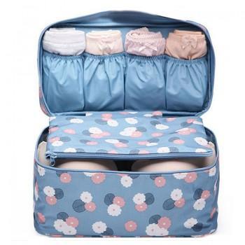 Waterproof Patterned Bra Storage Bag Travelling Bag