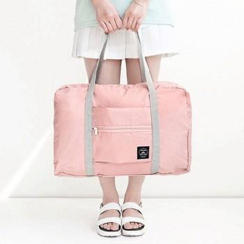 Trendy Solid Waterproof Cloth Storage Travel Bag