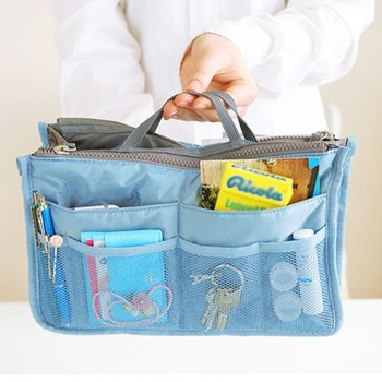 Portable Zipper Closure Storage Bag