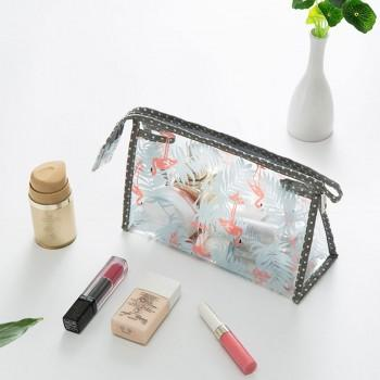 Sassy Triangle Design Cosmetic Storage Bag