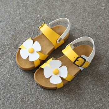 Sweet Flower Design Sandals for Toddler Girl and Girl