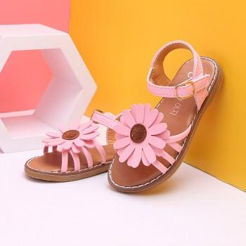 Pretty Sunflower Design Sandals for Toddler Girl and Girl