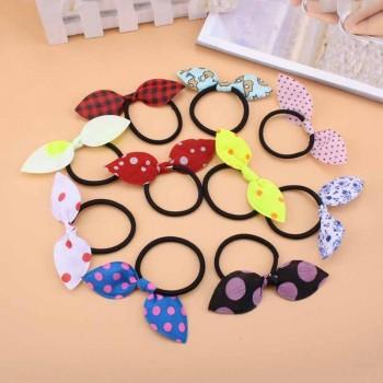 10-pack Sweet Bowknot Decor Hairband Set for Baby Girl and Girl