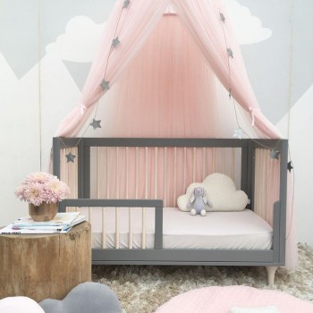 Stylish Baby Mosquito Net, Star and Crown decor