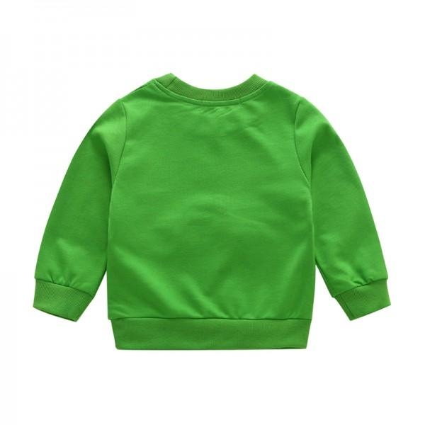 Cute Big Eyes Pullover for Toddler Boy and Boy