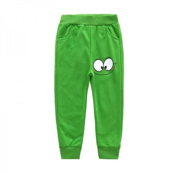 Sporty Cartoon Print Pants for Toddler Boy and Boy