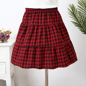 Stunning Plaid Skirt for Toddler and Girl