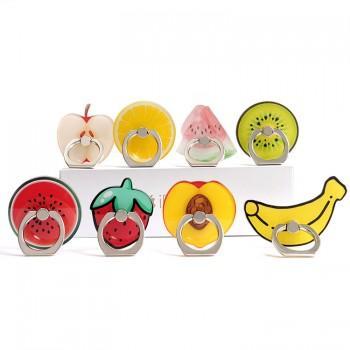 1-piece Creative Fruit Design Phone Ring Holder Kickstand
