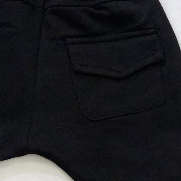 Comfy Solid Pocket Design Pants for Toddler Boy and Boy