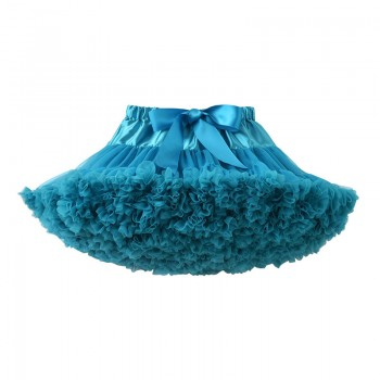 Baby Girl and Girl's Chic Tutu Skirt in Turquoise