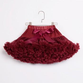 Chic Tutu Skirt in Crimson for Baby Girl and Girl