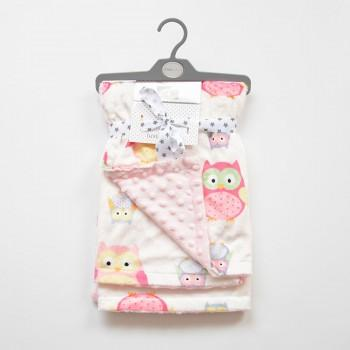 Pretty Cartoon Print Blanket for Baby