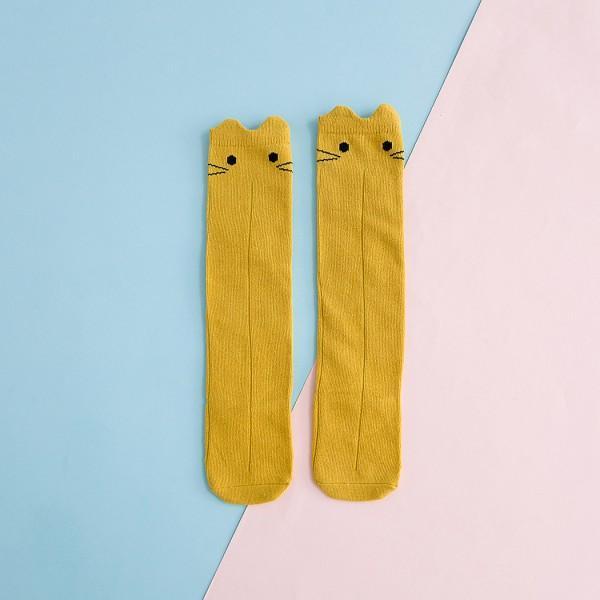 Lovely Cat Design Stockings for Baby Girl