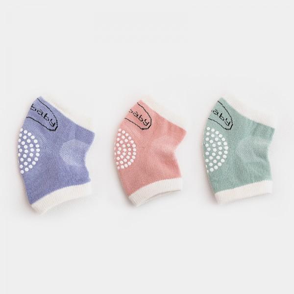 3-pair Anti Slip Baby Knee Protectors