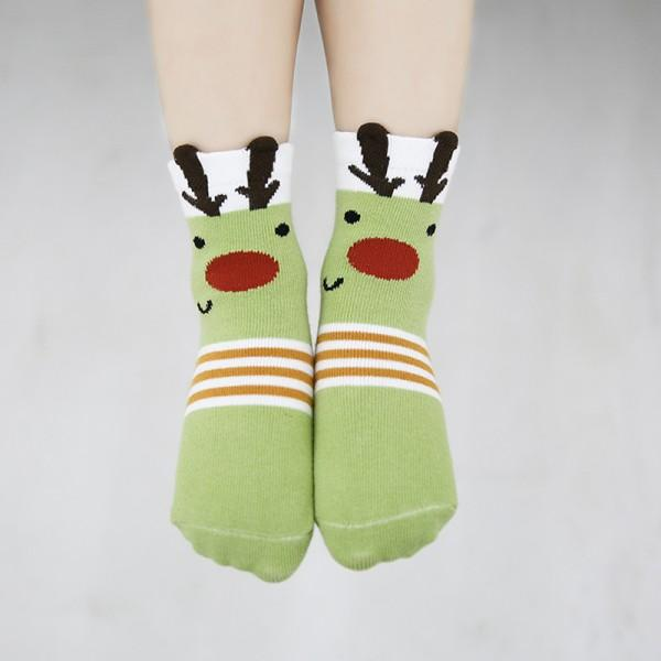 5-pack Lovely Animal Design Socks for Baby Girl and Girl