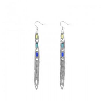 Stylish Boho Tassel Design Earrings
