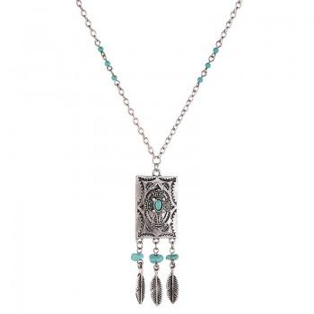 Ancient Rome Turquoise Necklace
