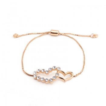 Stylish Heart Design Bracelet for Women