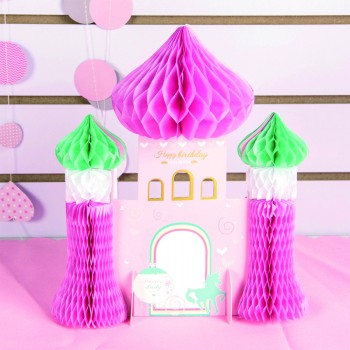 Pretty Castle Birthday Party Decoration for Baby