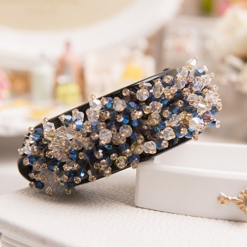 1-piece Gorgeous Rhinestone Hair Claw for Women