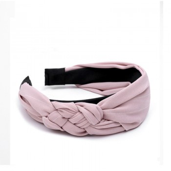 1-pack Trendy Striped Knot Hariband for Women