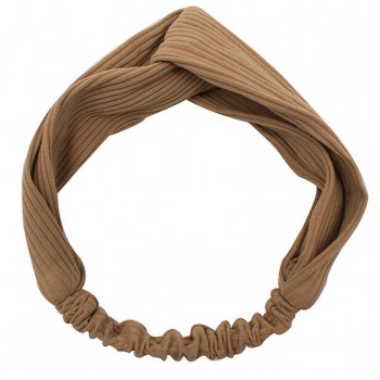 Stylish Solid Knitted Cross Elastic Headband for Women