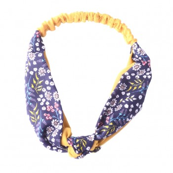 Women's Lovely Elastic Floral Chinese Knot Headband
