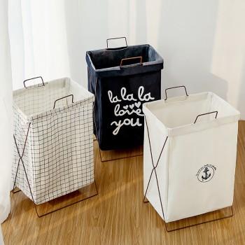 Foldable Blend Cotton Laundry Basket