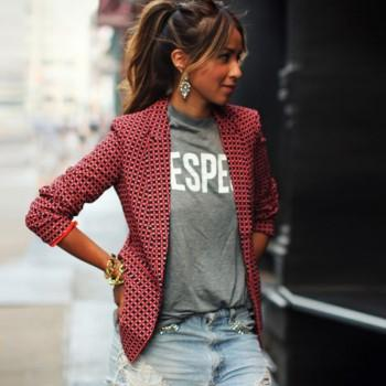 Casual Plaid Long-sleeve Suit
