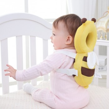Cute Bee Shape Protective Pillow for Baby