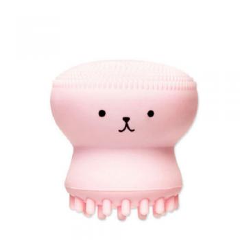 Cute Octopus Design Face Cleanser Brush