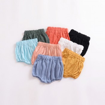 Comfy Solid Cotton Underwear for Baby and Toddler Girl