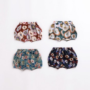 Baby and Toddler Girl's Floral Shorts