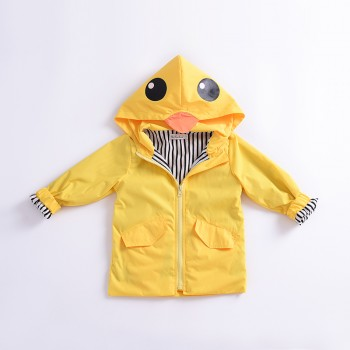 Fashionable Duck Design Hoodie for Toddler Girl and Girl