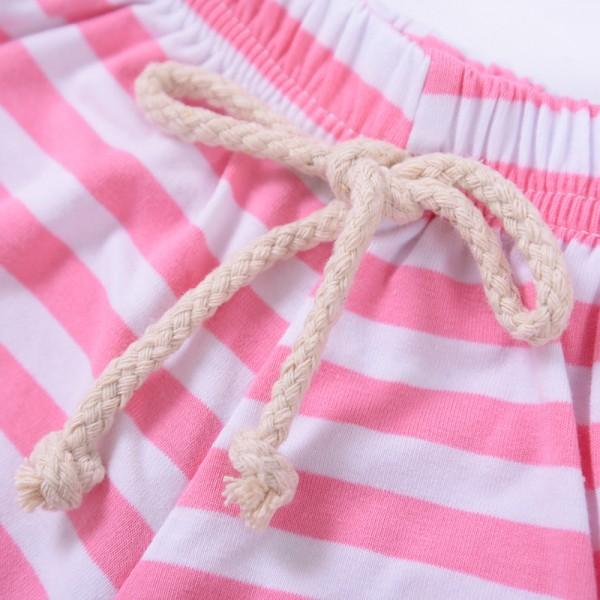 Trendy Striped PP Shorts for Baby and Toddler