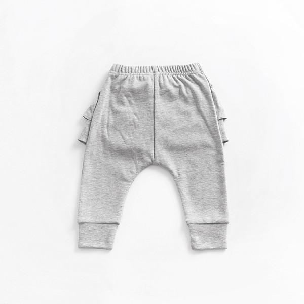 Sweet Ruffled Bowknot PP Pants for Baby/Toddler Girls