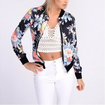 Trendy Floral Jacket for Women