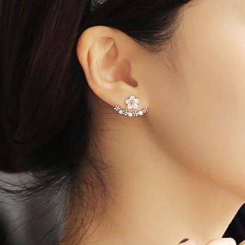 1-pair Charming Stud Daisy Earrings