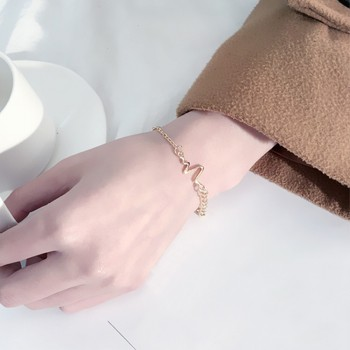 Trendy ECG Design Chain Bracelet for Women