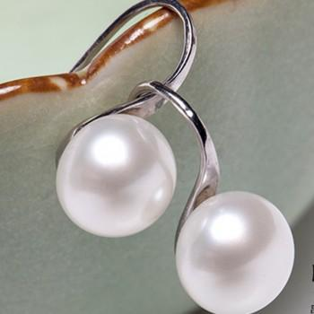 Trendy Pearl Shaped Earrings