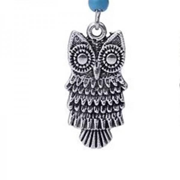 Retro Owl Design Hook Earrings