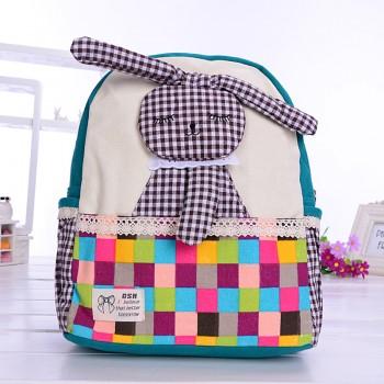 Pretty Rabbit Decor Backpack for Toddler Girl and Girl